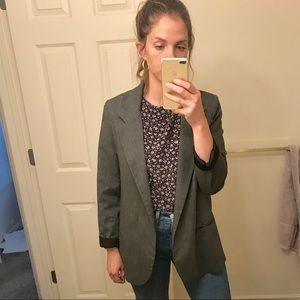 Urban Outfitters Pinstriped Blazer
